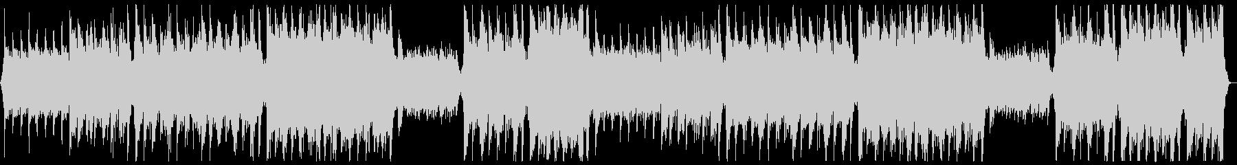 華やかなピアノ&オーケストラ x2回の未再生の波形