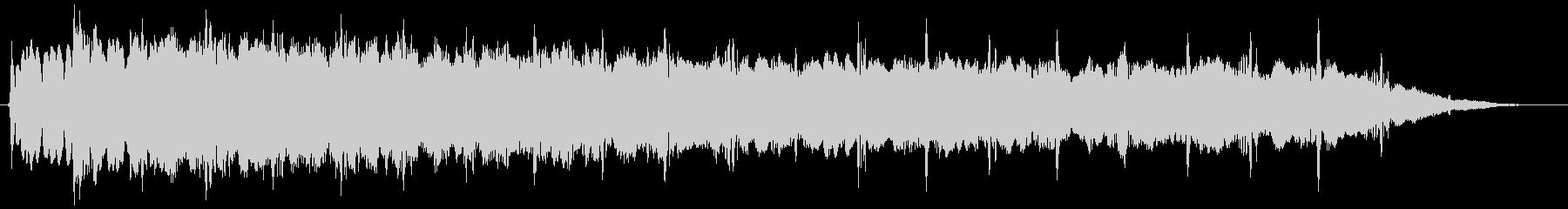 ピューン:異次元へワープする音4の未再生の波形