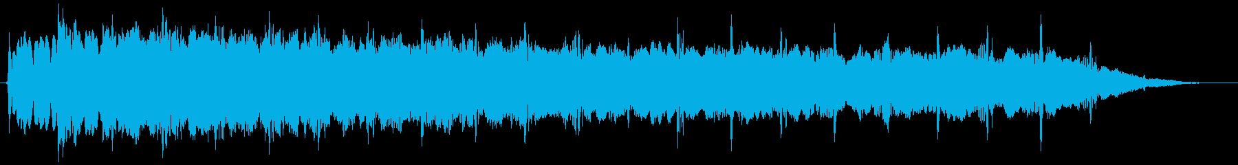 ピューン:異次元へワープする音4の再生済みの波形