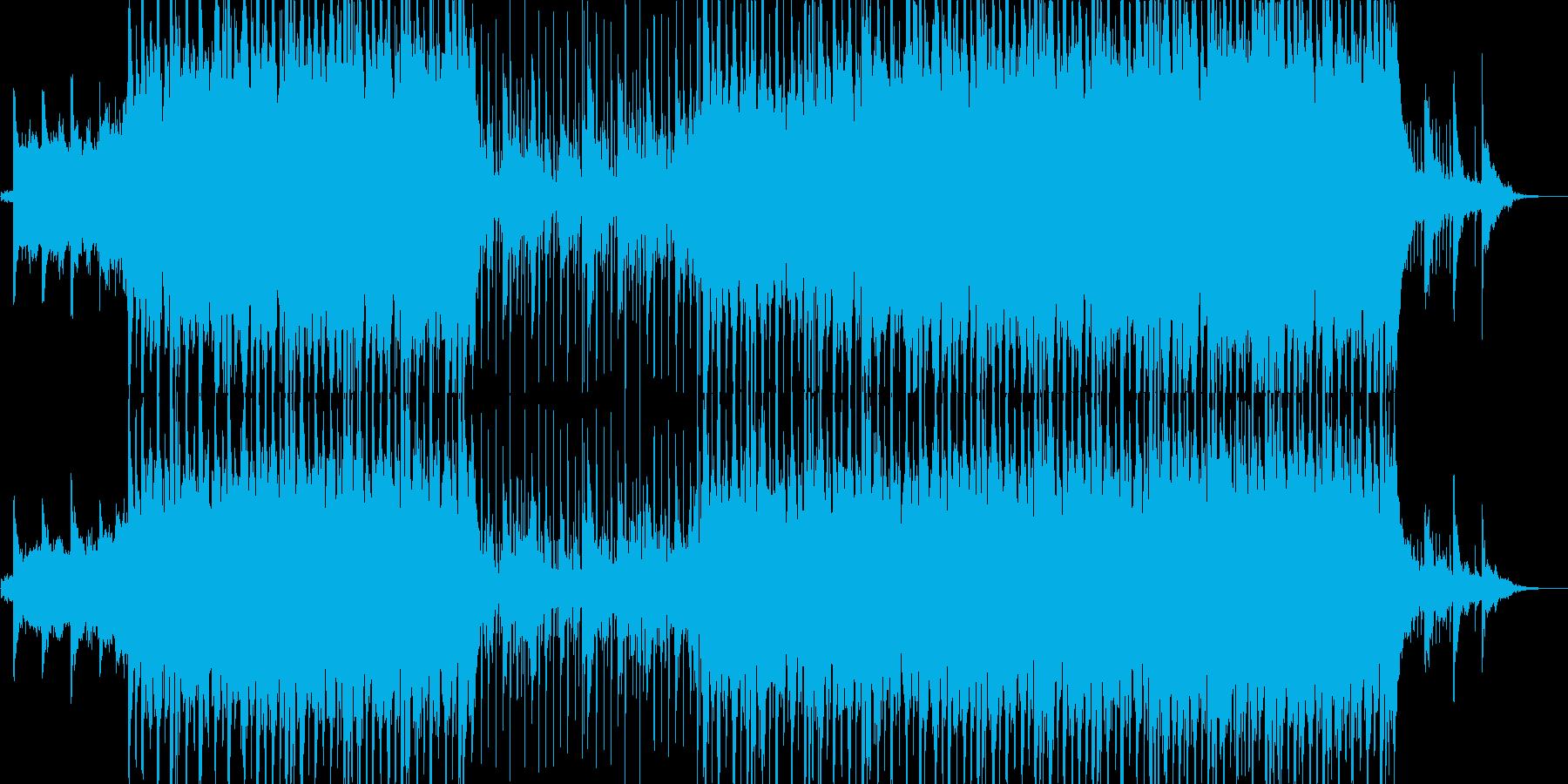 ポップ ロック Hip-hop ア...の再生済みの波形