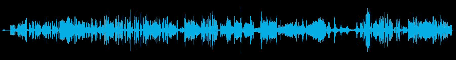 コンシューマーオープンリールマシン...の再生済みの波形