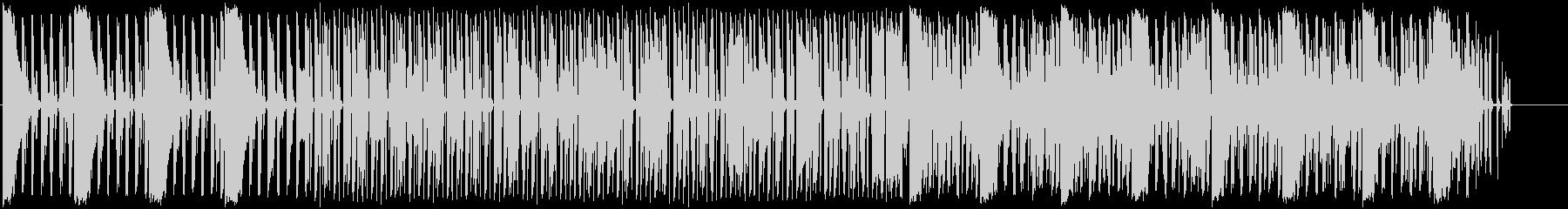 大人な勢いあるラップミュージックの未再生の波形