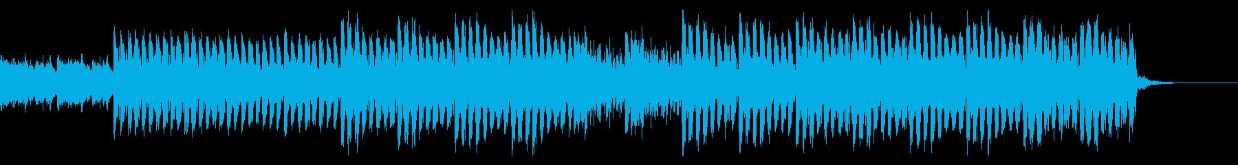 おしゃれ・クール・EDM2の再生済みの波形