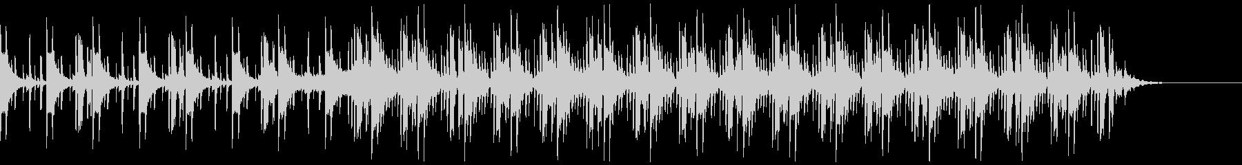 コーポレートテクスチャ―2の未再生の波形