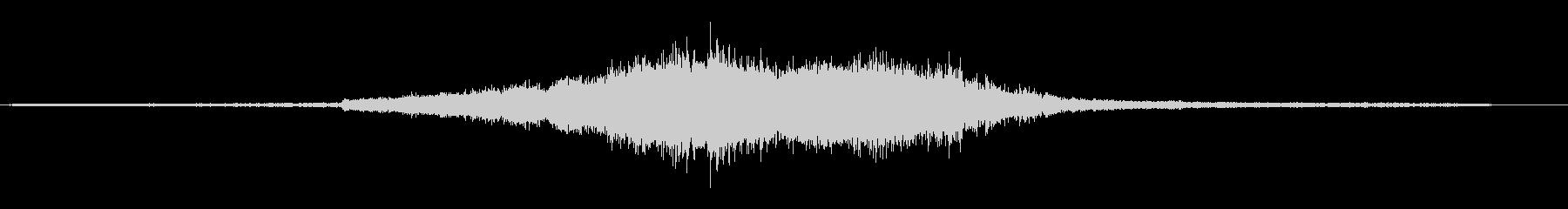 電車の走行音の未再生の波形