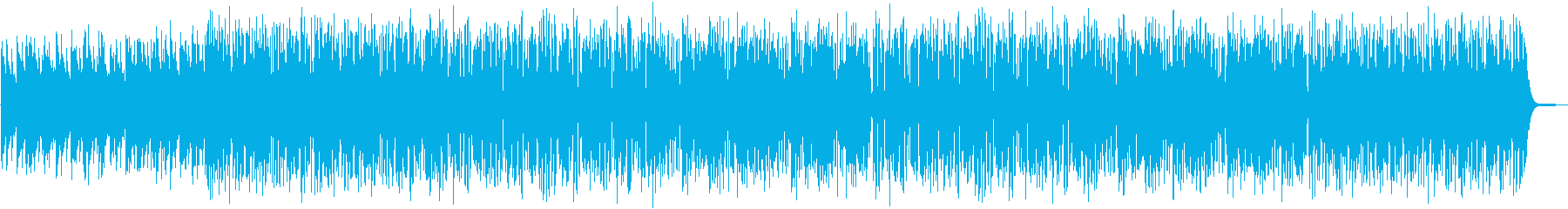 軽快なピアノトリオの再生済みの波形