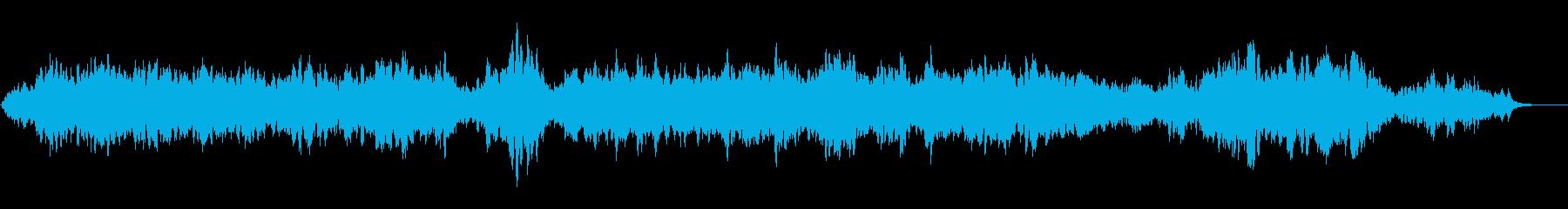 癒し系の曲ですの再生済みの波形