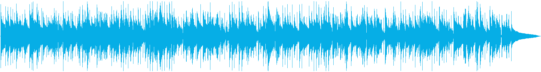 クールなスムースジャズバラードの再生済みの波形