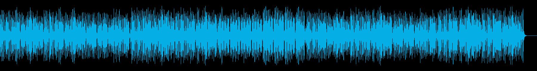 軽快でコミカル可愛いリコーダーの再生済みの波形