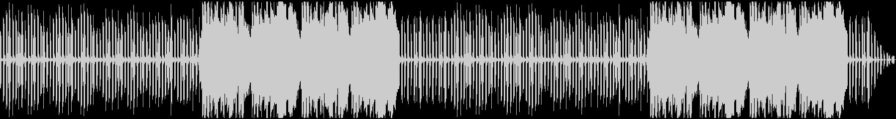 ほのぼの日常のシンプルなエレピ曲の未再生の波形
