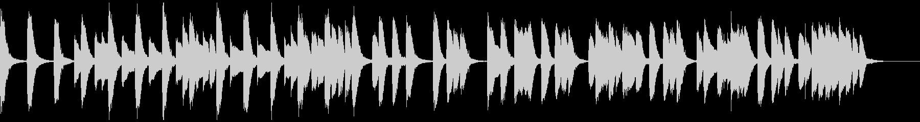 知育・料理・パズル・日常ピアノ18Aの未再生の波形