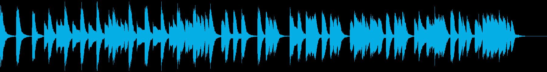 知育・料理・パズル・日常ピアノ18Aの再生済みの波形