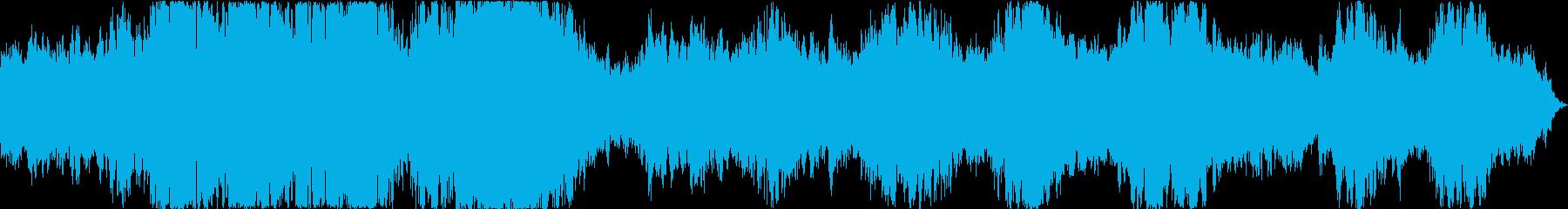 ドローン 冬の嵐01の再生済みの波形