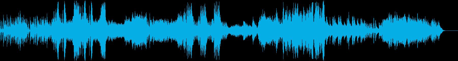 ピアノ協奏曲第26番「戴冠式」第3楽章の再生済みの波形
