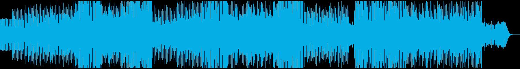【和風テクノ】軽快な三味線・尺八の再生済みの波形