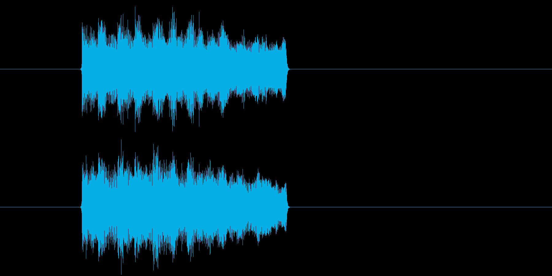ゲーム、クイズ(正解)_015の再生済みの波形