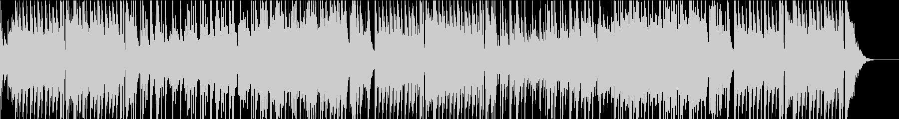 ピアノ主体の優しいBGMの未再生の波形