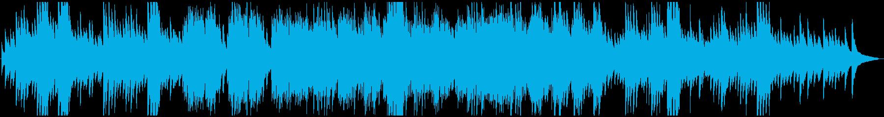 ピアノソロ。メロディアスで静かなロ...の再生済みの波形