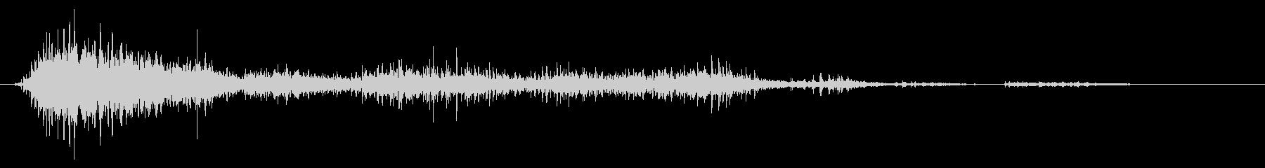 ゾンビやモンスターの叫び声/唸り声21cの未再生の波形