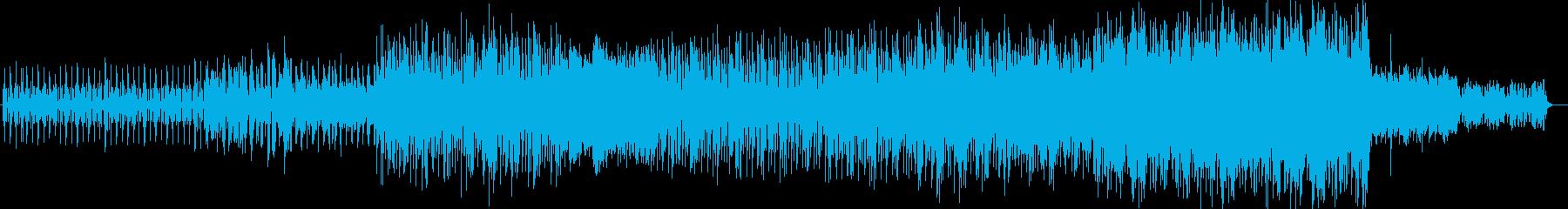 お洒落な木琴シンセポップの再生済みの波形