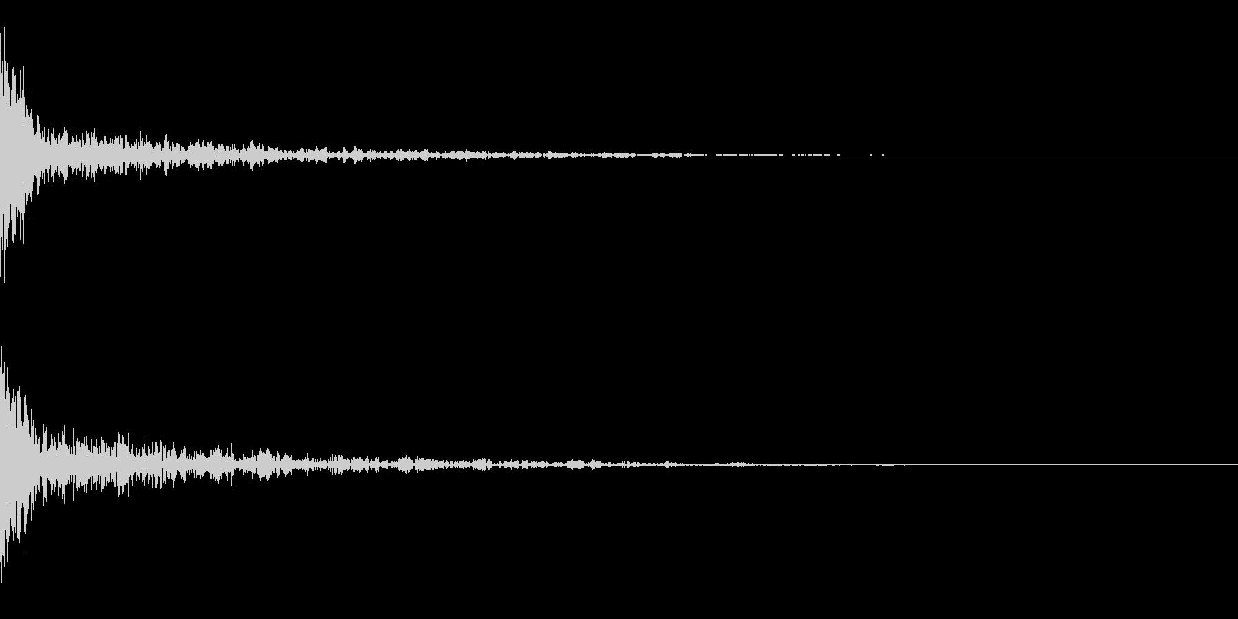 ドーン-41-1(インパクト音)の未再生の波形