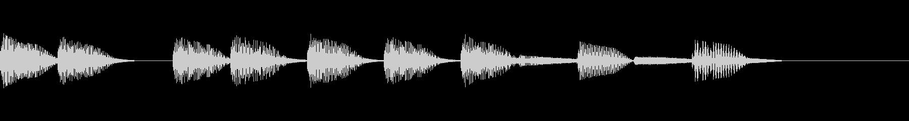 【ファミコン】ゲームオーバー_01の未再生の波形