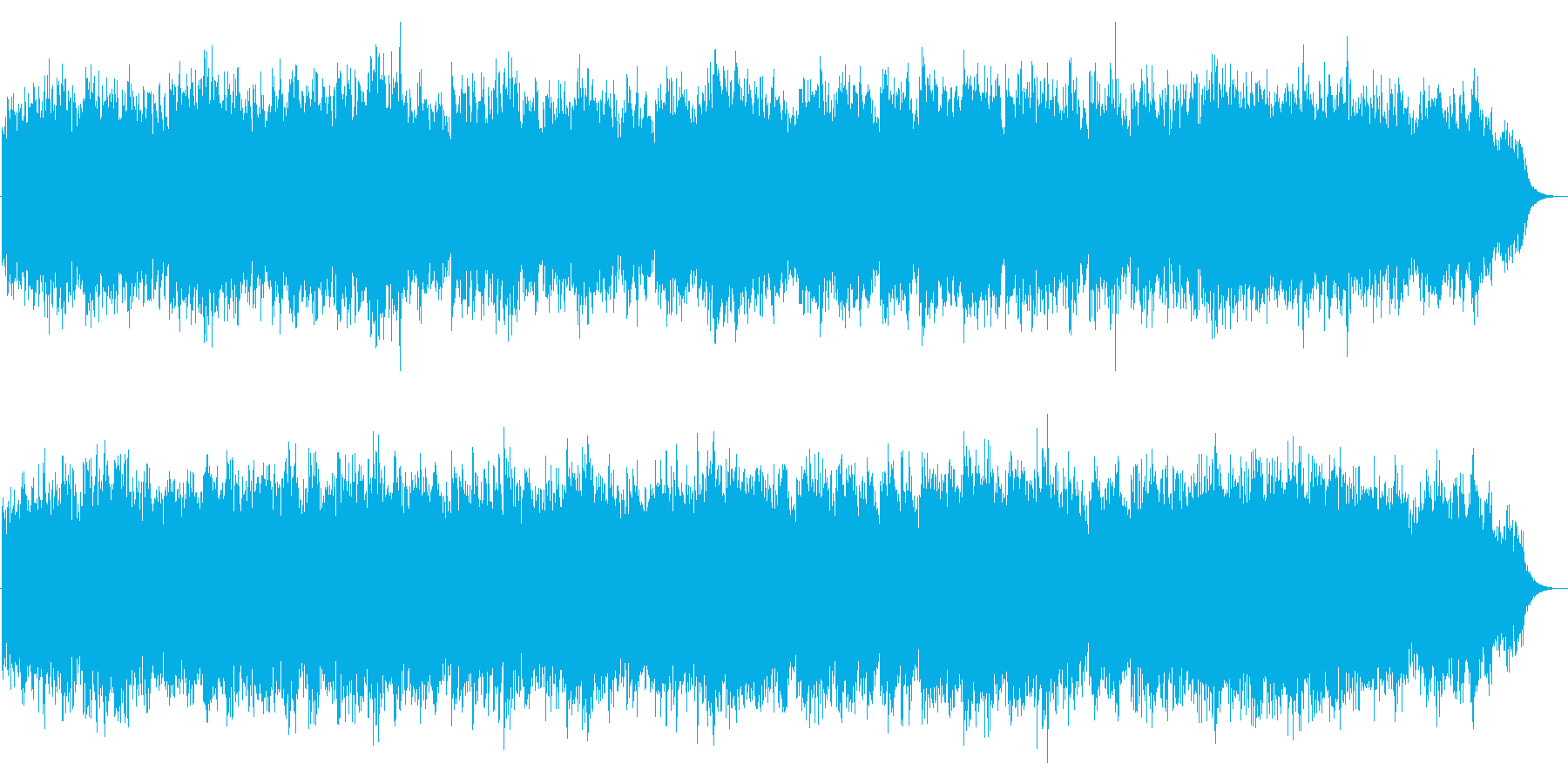 優しいシンセ音で、グノー作「アベマリア」の再生済みの波形
