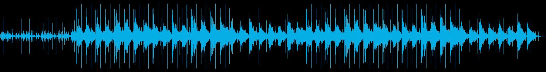 静かなオルゴールのチル・ヒップホップの再生済みの波形