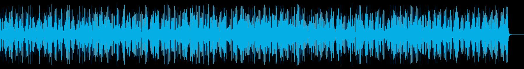 速くて明るい陽気なジプシージャズの再生済みの波形