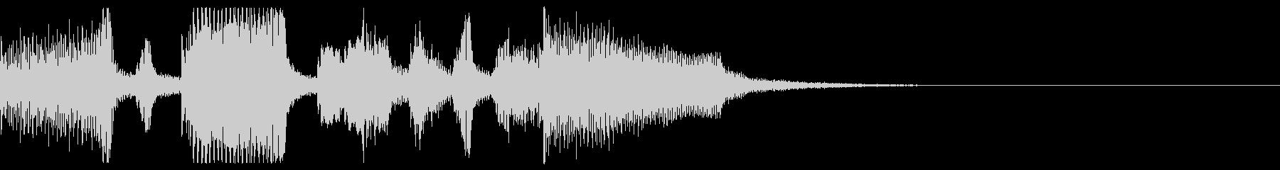 ジングル・アイキャッチ_Cの未再生の波形