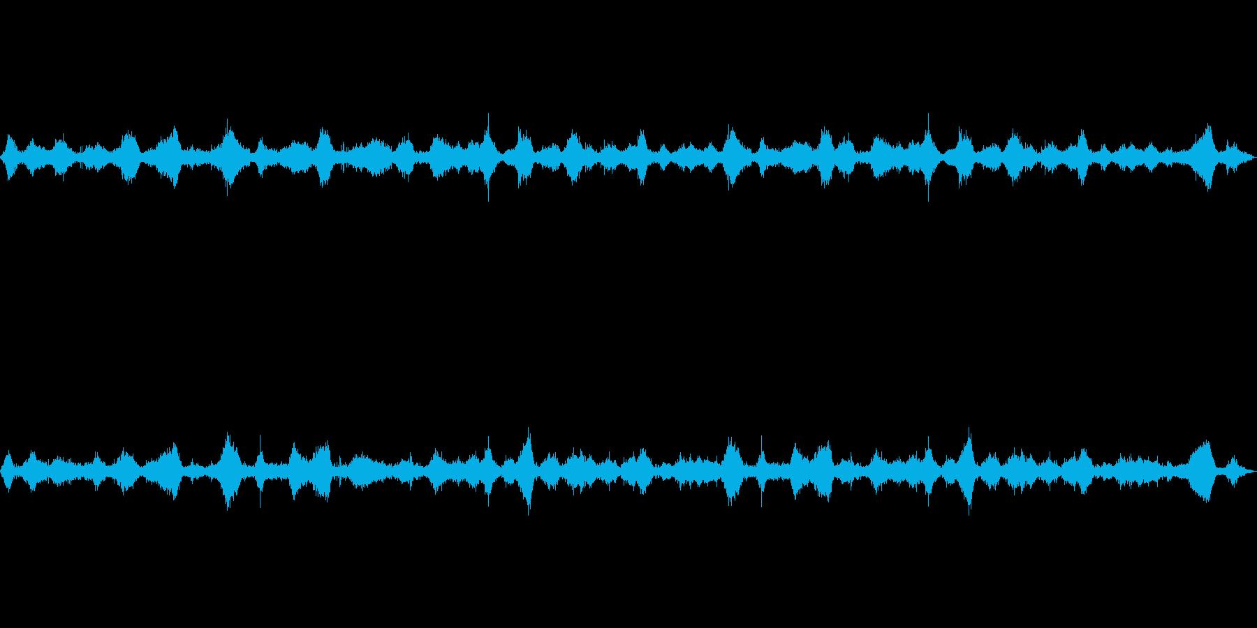 波の音~断続的な波2~砂浜~沖縄【生録】の再生済みの波形