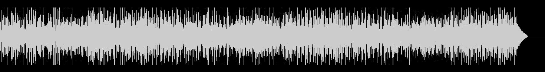 ジャズファンク生演奏エレピと都会的ビートの未再生の波形
