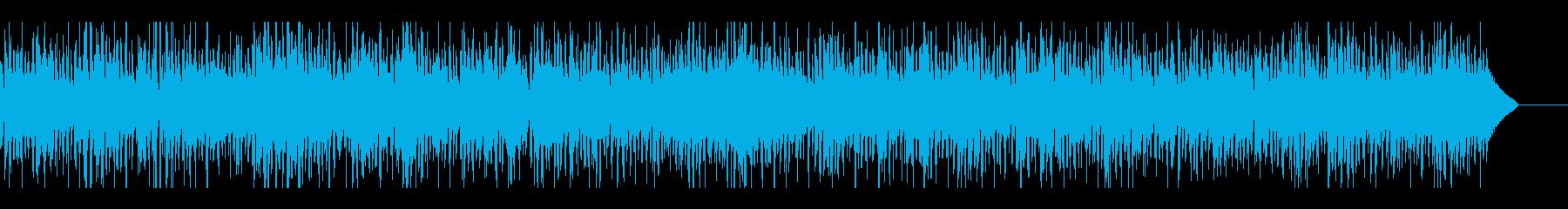ジャズファンク生演奏エレピと都会的ビートの再生済みの波形