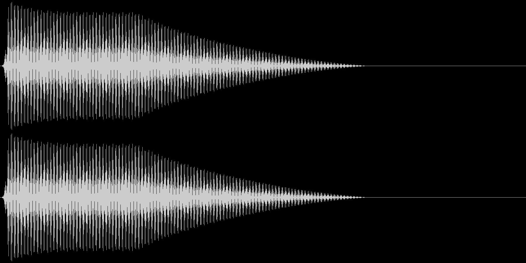 OctaveCom アプリ用タッチ音12の未再生の波形
