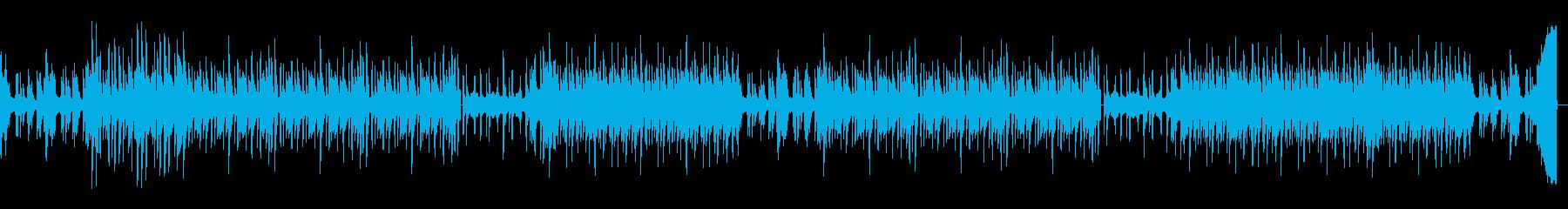 ダークめで壮大なイメージのHIPHOPの再生済みの波形