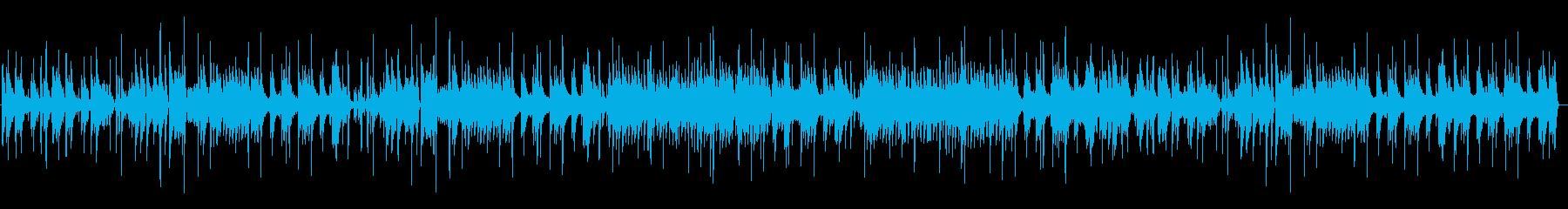 流れるようなムードで演奏するジャズ...の再生済みの波形