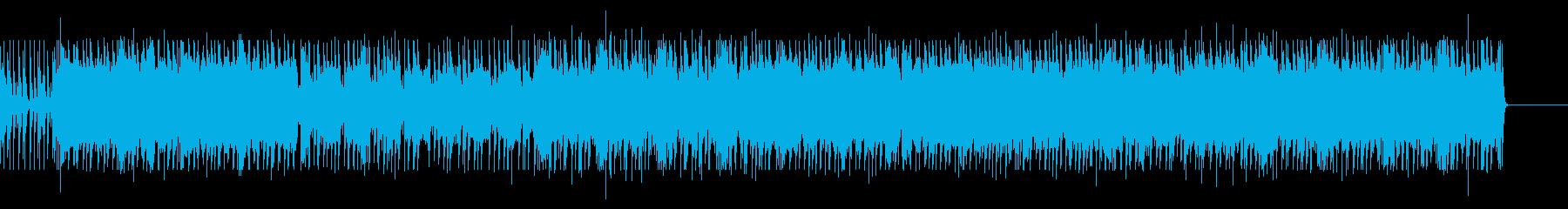 重厚なギターサウンドの再生済みの波形