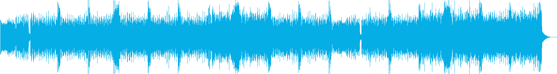 キラキラしたエレクトリカルパレード風曲dの再生済みの波形