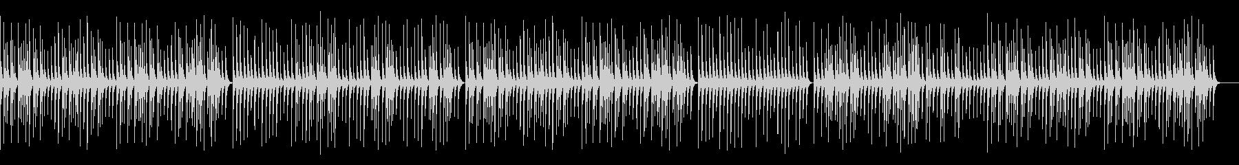 のんびりとした静かな木琴/施設BGMの未再生の波形