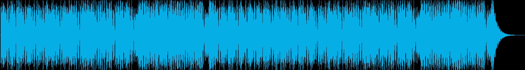 少し冷たい雰囲気の曲です。の再生済みの波形