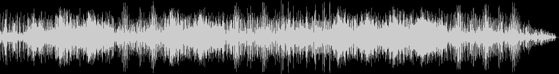キック音と効果音が印象的なエレクトロニカの未再生の波形