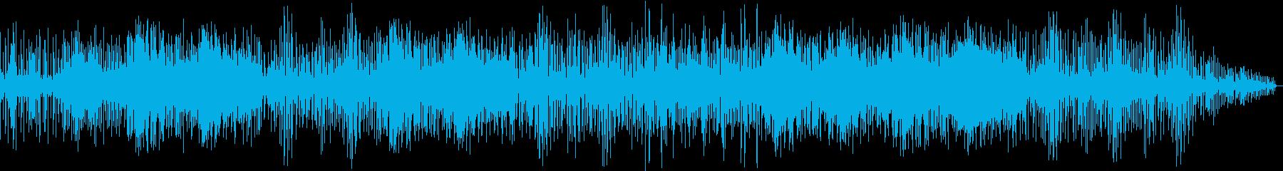 キック音と効果音が印象的なエレクトロニカの再生済みの波形