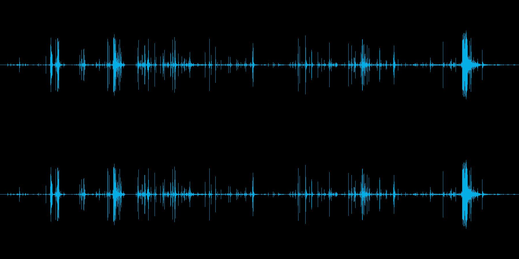 木 スプリンターロー03の再生済みの波形
