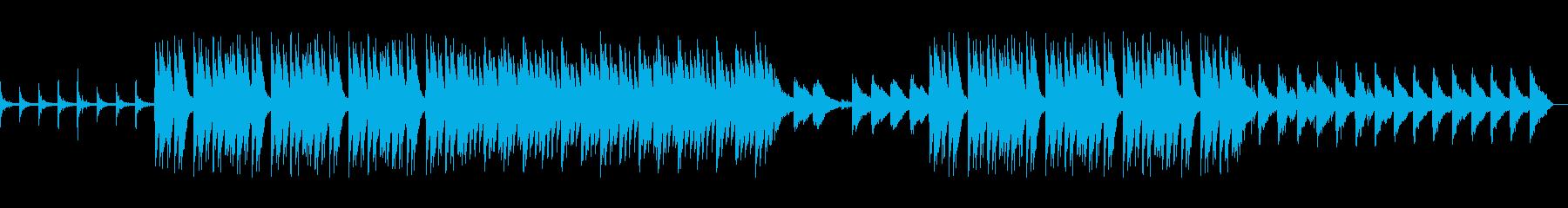 【リズム抜】アングラなHIPHOPの再生済みの波形