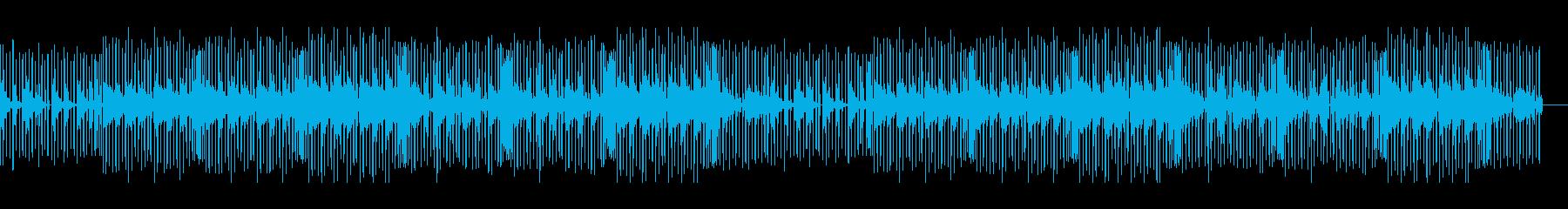 シンセサウンドが印象的なエレクトロの再生済みの波形