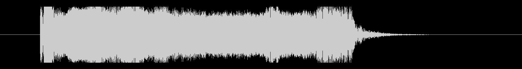 ユニゾンチョーキング、エレキギター音の未再生の波形