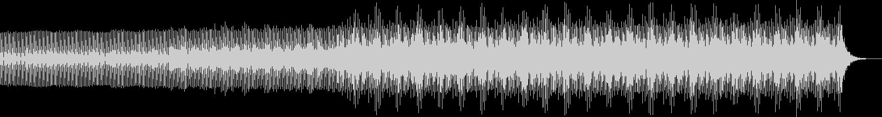 幻想的エレクトロニカミュージック bの未再生の波形