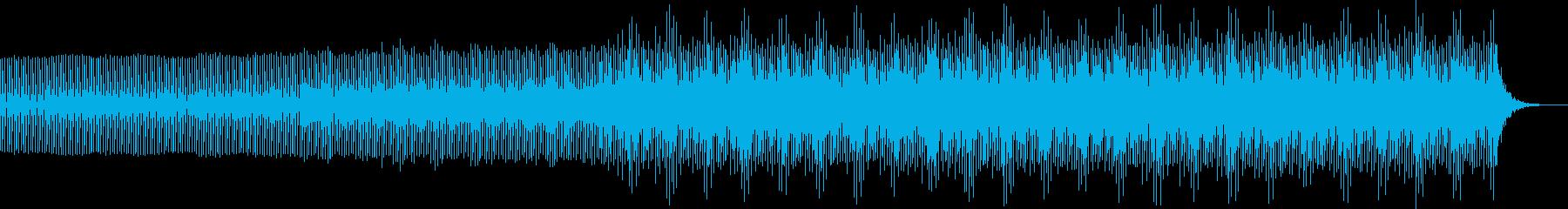 幻想的エレクトロニカミュージック bの再生済みの波形