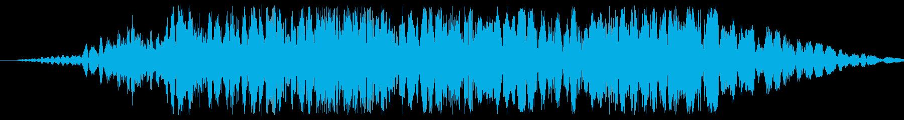金属摩擦スライドの再生済みの波形