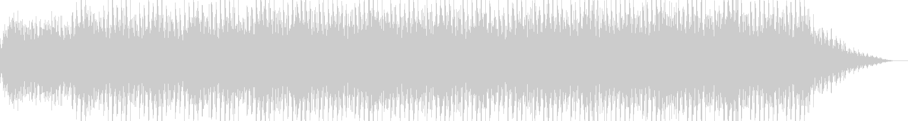 キラキラした感じのシンセのBGM曲です。の未再生の波形